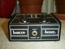 Barcus-Berry 1335, Pre-Amp Equalizer, 6 Band Eq, Preamplifier, Vintage Unit