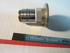 LEITZ WETZLAR GERMANY MICROSCOPE OBJECTIVE 100X FLUOTAR OPTICS BIN#A1-06