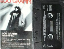 LOU GRAMM READY OR NOT CASSETTE FOREIGNER