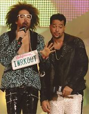 LMFAO: REDFOO SIGNED 10x8 ACTION PHOTO+COA *SEXY AND I KNOW IT* *PARTY ROCK*