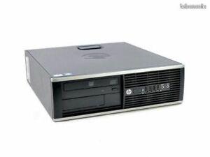PC HP Compaq Elite 8300 SFF d'OCCASION  Intel® Core™ i5 8GB 250 GB HDD