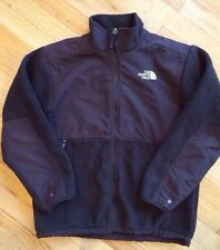 THE NORTH FACE Size 11-12 Years Large Brown Denali Fleece Jacket Coat