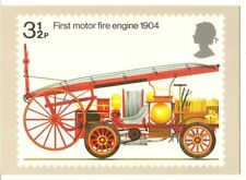 GB 1974 Fire Engine PHQ Card Mint Cat£65
