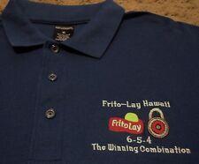 Men's ~ Frito Lay Hawaii Winning Combination 6-5-4 Polo Golf Shirt ~ XL
