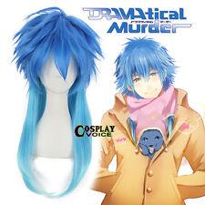 DRAMAtical Murder DMMD Aoba Segaraki 50cm Gradient Blue Wavy Anime Cosplay Wigs