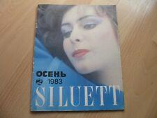 2/1983 Siluett Old Vintage Russian Fashion Magazine