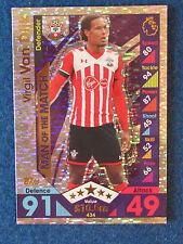 Match Attax Trading Card - 2016/17 - Virgil Van Dijk - Southampton - MOTM
