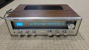 Vintage 1970's Nikko NR-615 Stereo Receiver AM/FM, Made in Japan EXCELLENT