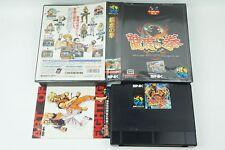 Art Of Fighting Ryuko no Ken AES Snk Neogeo Box From Japan