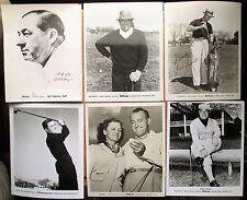 Golf Advisory Staff Photos PICK What You Want 19.99 ea Hagen Snead Babe Zaharias