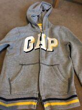 Boys GAP hoodie aged 6-7 years grey.