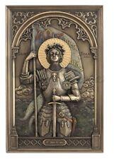 """9"""" St Joan of Arc Plaque France Saint Religious Home Decor"""