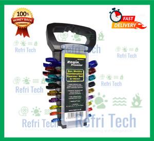 REGIN REGB57 – 9pc Colour Coded Stubby Combination Spanner Set 6 -14mm