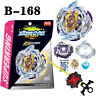 New Beyblade Burst B-168 Rage Longinus Ds' 3A Superking Booster with Launcher