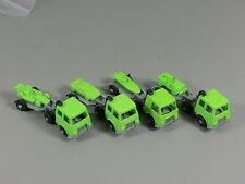 AUTOS: Transporter mit Auflieger EU 1987 - Komplettsatz grün/silber