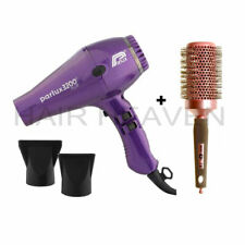 Parlux 3200 Plus Turbo Hair Dryer Purple inc. 2 nozzles + Free Brush NEW MODEL