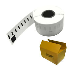 5000 BLANK WHITE SELF ADHESIVE PEEL STICKY POSTAGE ADDRESS LABEL ON ROLL 32x57mm