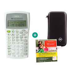 TI 30 X IIB Taschenrechner + Schutztasche und MatheFritz Lern-CD