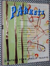 PARKETT, No. 26, SIGMAR POLKE, PHILIP TAAFFE, PETER GREENAWAY, EDMUND WHITE