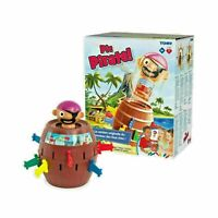 🔥TOMY Pop Up Pirate Classic Children's Action Board Family & Kids Game**NEW**