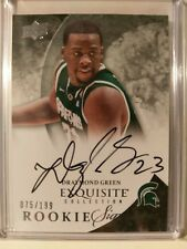2012-13 UD Exquisite Collection #73 Draymond Green Rookie Signatures #/199