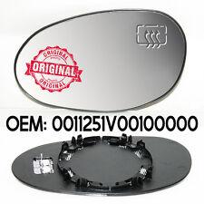 Lado Derecho Retrovisor Lateral Calentado cristal plata para Smart dos 1998-2006