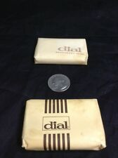 Vintage Dial Bar Soap Deodorant For Hotels Made In Usa Original