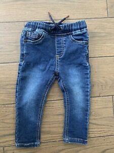 Next Baby Boy Jeans Size 12-18 Months Blue Denim