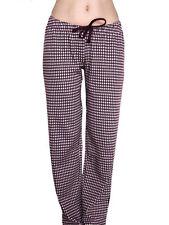 Karierte Damen-Pyjamahosen für die Freizeit