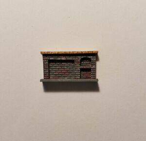 Dollhouse Miniature 1:144 Size Gray MultiColor Brick Kitchen Fireplace ASSEMBLED