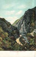 Vintage Postcard The Narrows Ogden Canon Utah river water mountains nature photo