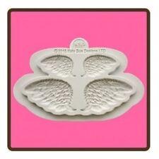Katy Sue Design Mat Fondant Cake Icing Embellishment Mould - Wings Pair Mould