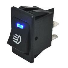 2017 Universal LED Fog Switch Rocker Car Accessories for Light Lamp 35A 12V Blue