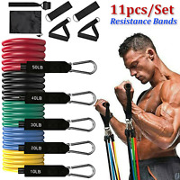 Fitness Resistance Bands Set Pull Rope Set Home Gym Workout Strength Training