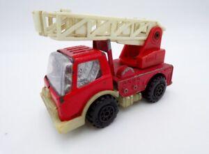 """Vintage 1980's Tonka Japan Tin Red 3.5"""" Fire Truck Buddy L"""
