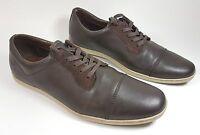 Zara Man brown leather casual shoes uk 8 eu 42