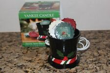 Yankee Candle Snow Friend Electric Wax Melt Warmer & 3 Tarts~Winter  2014~