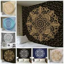 Mandala Tapestry Indian Wall Hanging Decor Beach Bohemian Hippie Bedspread  @#j