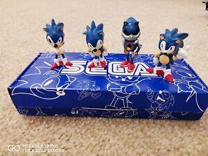Boxed Vintage Sega Sonic Hedgehog Figures Set - Original 1990's by SEGA - Rare!