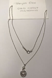 Tiffany & Co Nature Rose Pearl Necklace