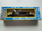 Vintage AHM Milwaukee Flat Car #65640 with Propeller Load in Box