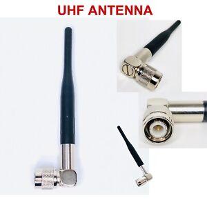 TNC Antenna UHF Trantec Aerial ANT-S5 RX-G UHF Receiver Rubber Ducky Antenna