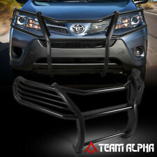 "Fits 2013-2017 Toyota Rav4 Black Mild Steel 1.5"" Front Bumper Grille/Brush Guard"