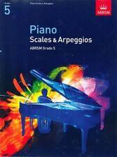 ABRSM Piano Scales & Arpeggios, Grade 5 - Same Day P+P