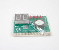 2-Digit Analysis PC Motherboard Test POST Diagnostic Debug Card Analyzer PCI