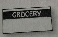 BLACK GROCERY LABELS FOR MONARCH 1110 1 CASE (255,000) MADE IN USA WITH INKERS