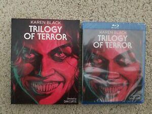 Trilogy of Terror Blu-ray Disc w slipcover. Kino Lorber. Karen Black. Horror.