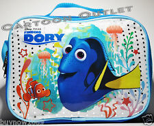 FINDING NEMO DORY LUNCH BAG BOX MESSENGER INSULATED TOTE SNACK BAG  PAIL NWT sil