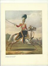 Officer of the 17th Lancers - book plate