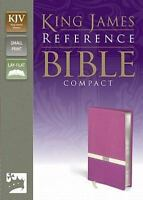 KJV, Reference Bible, Compact, Imitation Leather, Pink/Cream by Zondervan , Imit